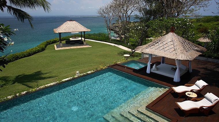 ayana resort and spa bali villa swimming pool