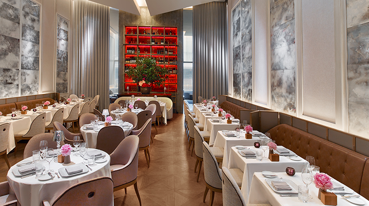 baccarat hotel and residences chevalier restaurant