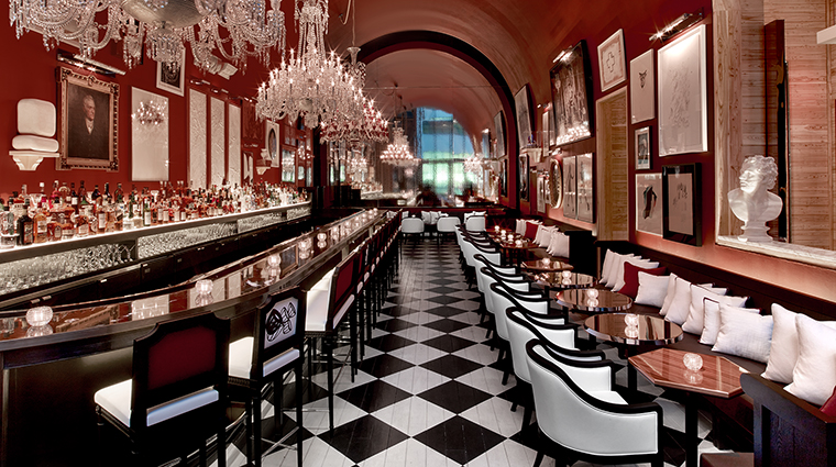 baccarat hotel and residences dining bar