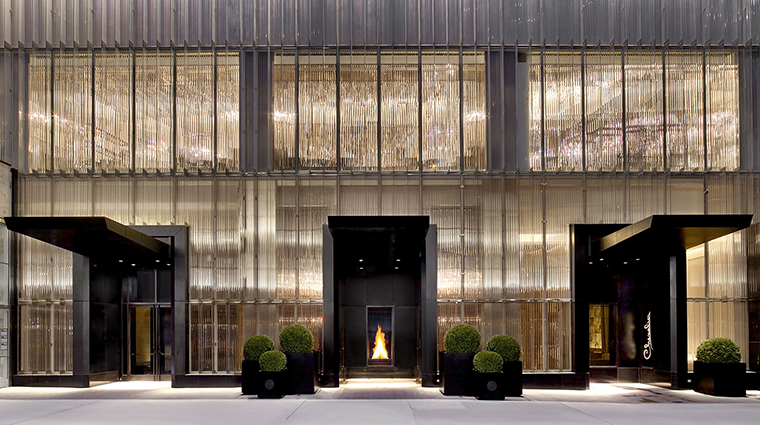 baccarat hotel and residences exterior