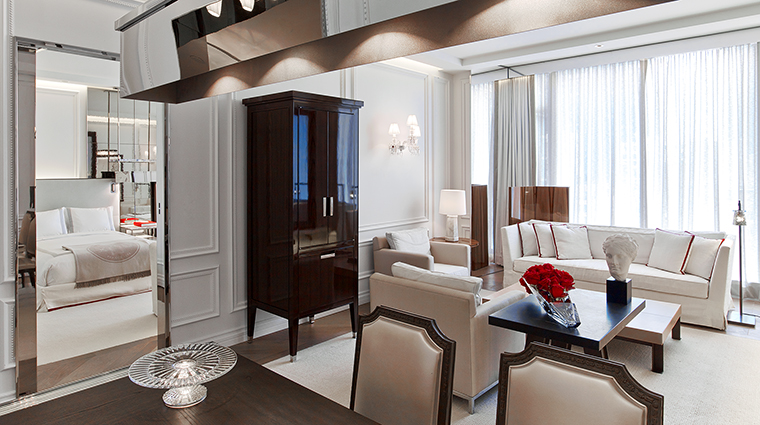 baccarat hotel and residences prestige suite