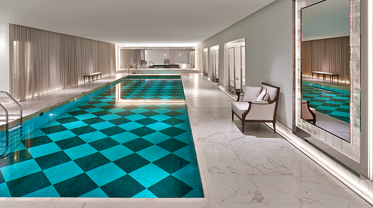 baccarat hotel and residences swimming pool