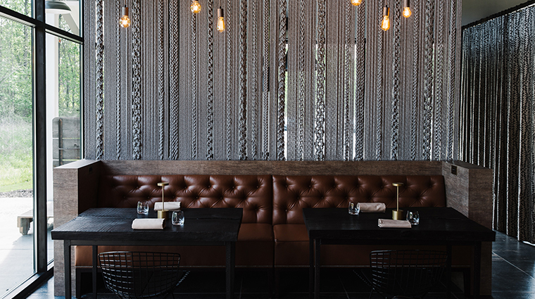 bacchanalia dining room booths