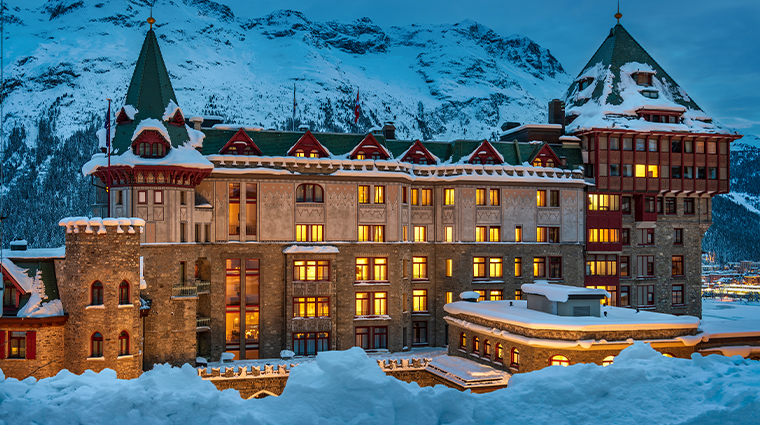 1 badrutts palace hotel winter exterior