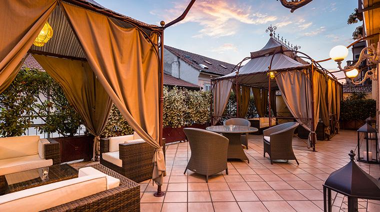 Baglioni Hotel Carlton terrace suite