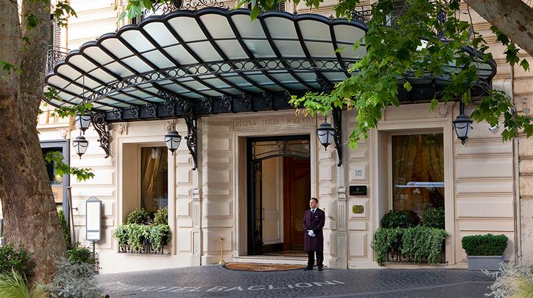Baglioni Hotel Regina entrance