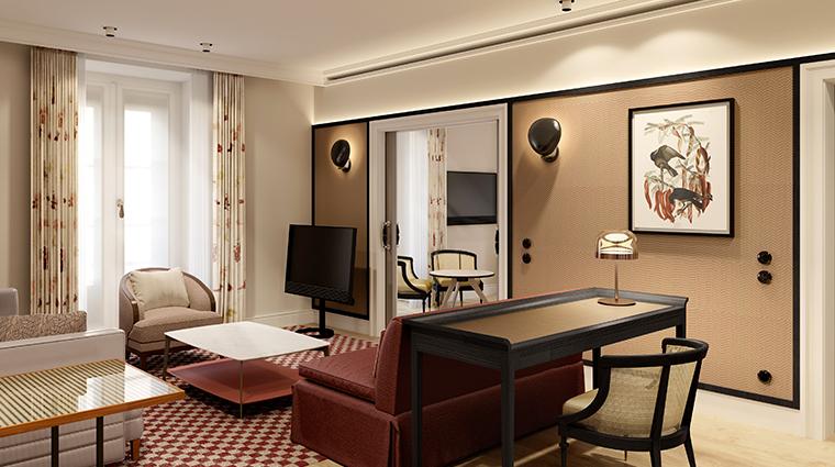 bairro alto hotel signature suite living room