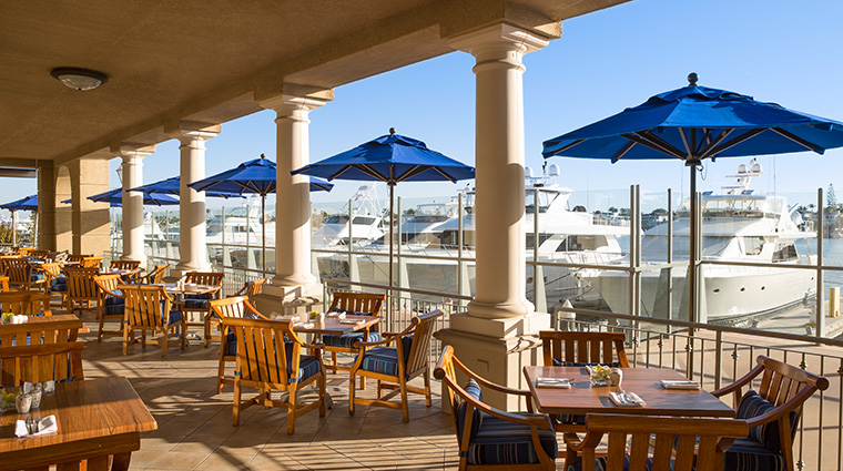 balboa bay resort waterline patio