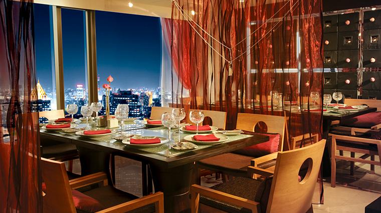 Banyan Tree Bangkok Restaurant Saffron