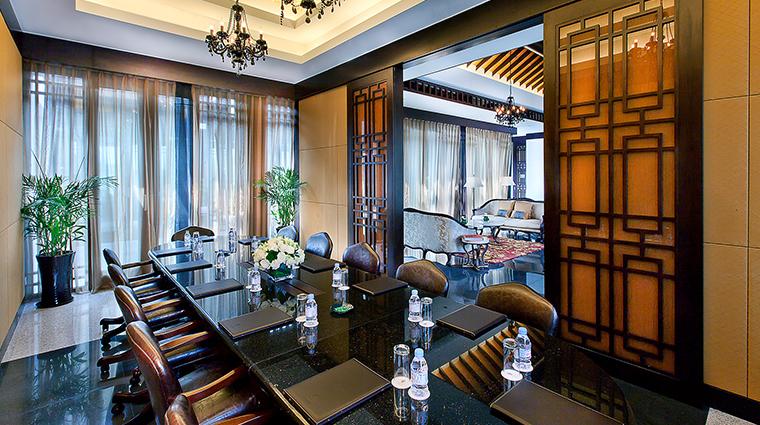 Banyan Tree Hangzhou Boardroom