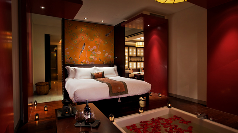 Banyan Tree Hangzhou water terrace room