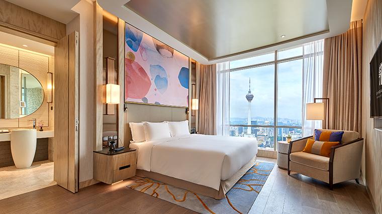 banyan tree kuala lumpur sky sanctuary suite bedroom