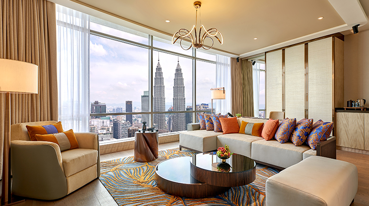 banyan tree kuala lumpur sky sanctuary suite living area