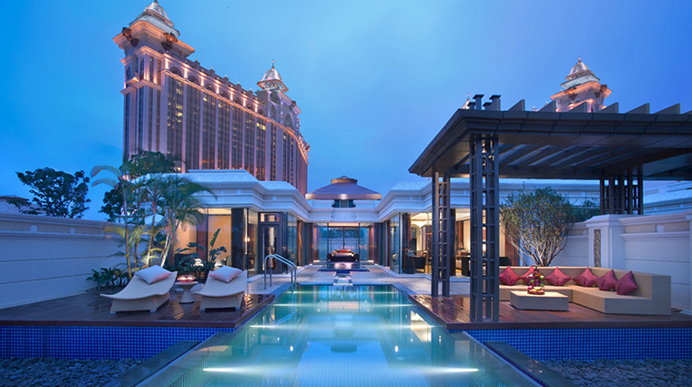 banyan tree macau new pool villa