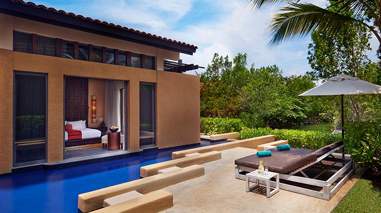 Banyan Tree Mayakoba Luxury Villa Exterior