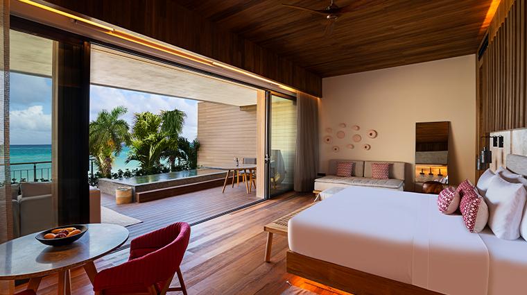 banyan tree mayakoba new beachfront pool suite
