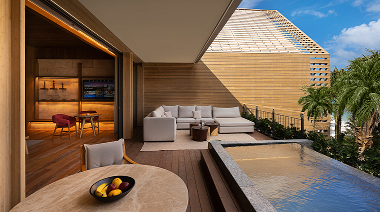 banyan tree mayakoba new beachfront pool villa