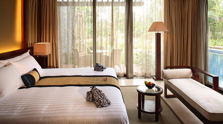 banyan tree sanya GuestRoom Two Bedroom Pool Villa Bedroom