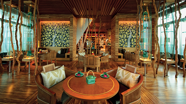 banyan tree spa marina bay sands tea lounge