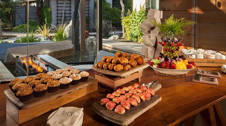 bardessono hotel and spa lucy breakfast