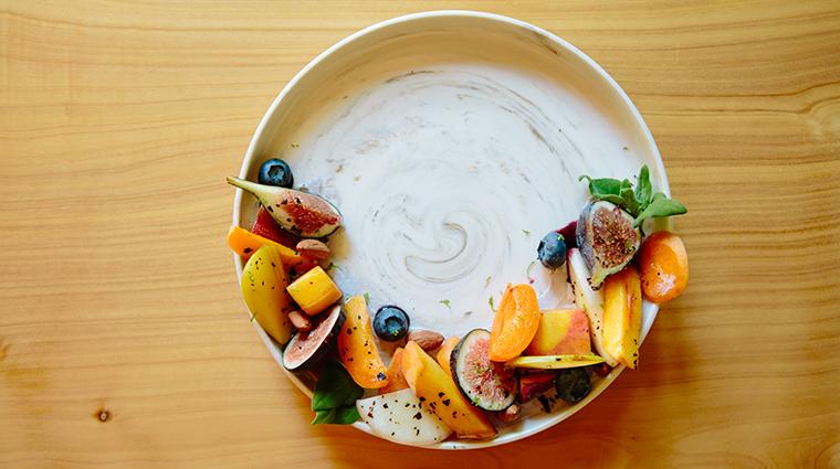 bardessono hotel and spa orchard fruit