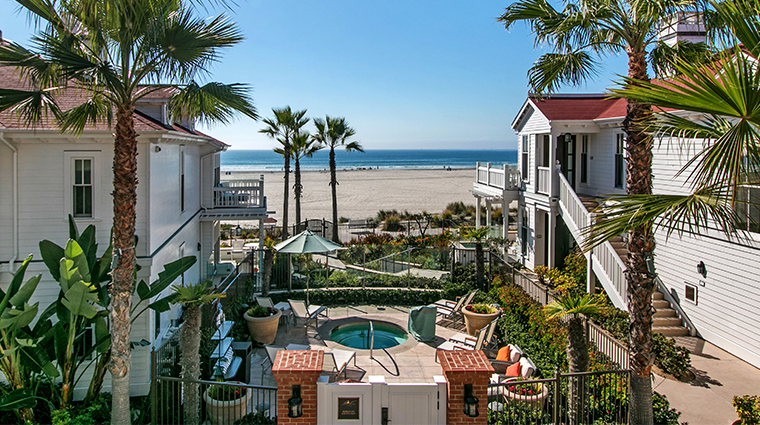 beach village at the del jacuzzi