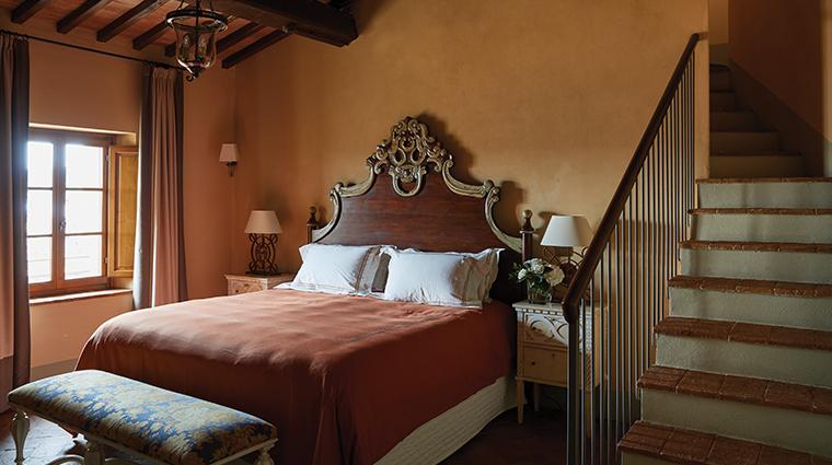 belmond castello di casole guestroom