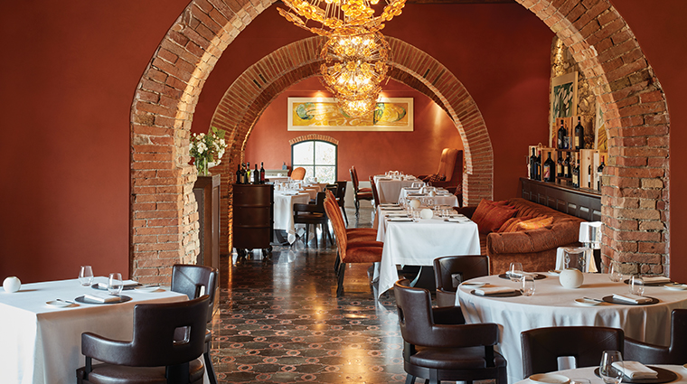 belmond castello di casole restaurant