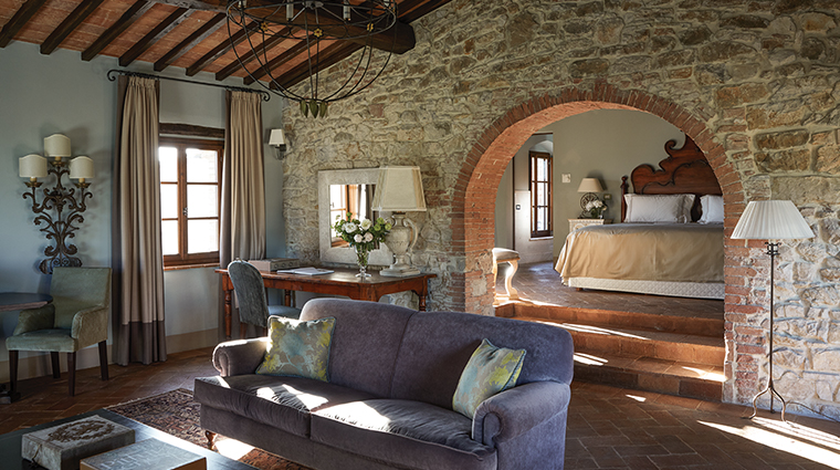 belmond castello di casole suite