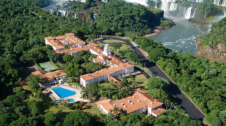 belmond hotel das cataratas aerial