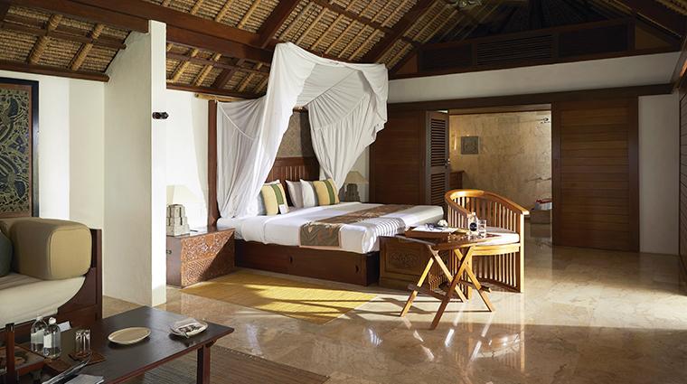 belmond jimbaran puri suite bedroom