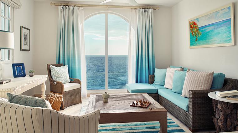 belmond la samanna one bedroom living room