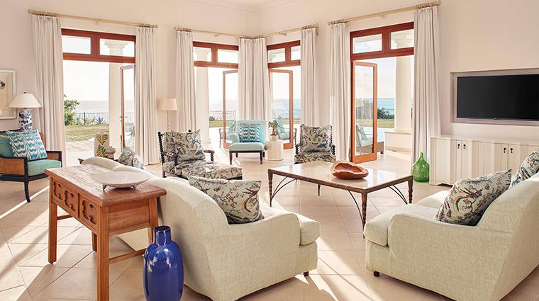 belmond la samanna villa living room