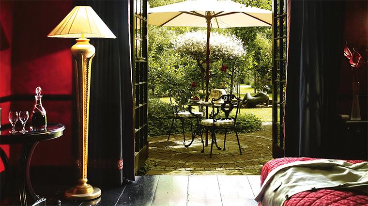 Belmond Le Manoir suite view
