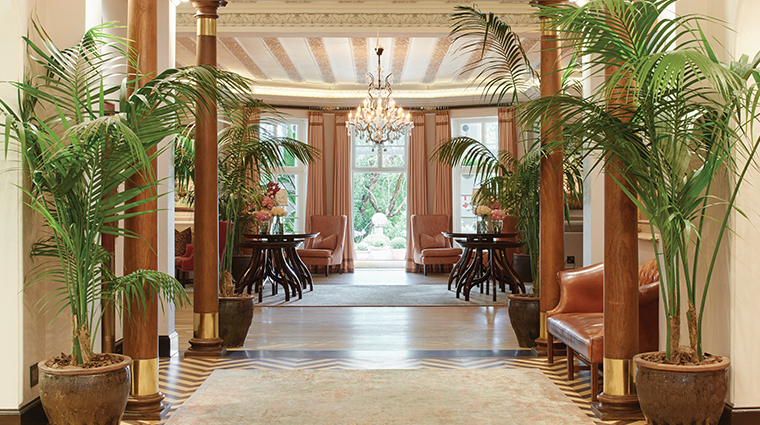 belmond mount nelson hotel lobby entrance