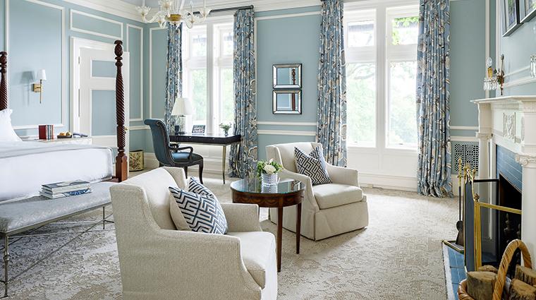 blantyre blue room