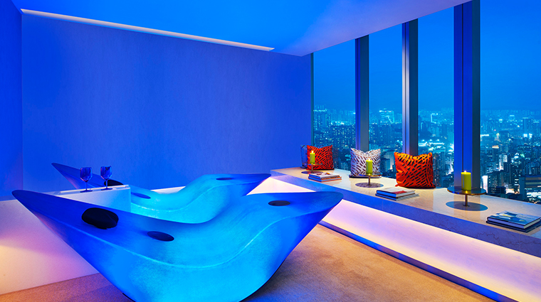 bliss spa relaxation room