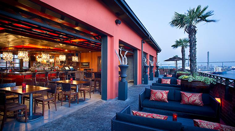 Bohemian Hotel Savannah roof