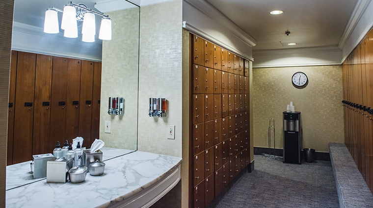 boston harbor hotel locker room
