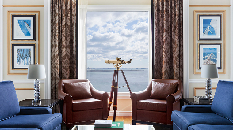 boston harbor hotel presidential suite
