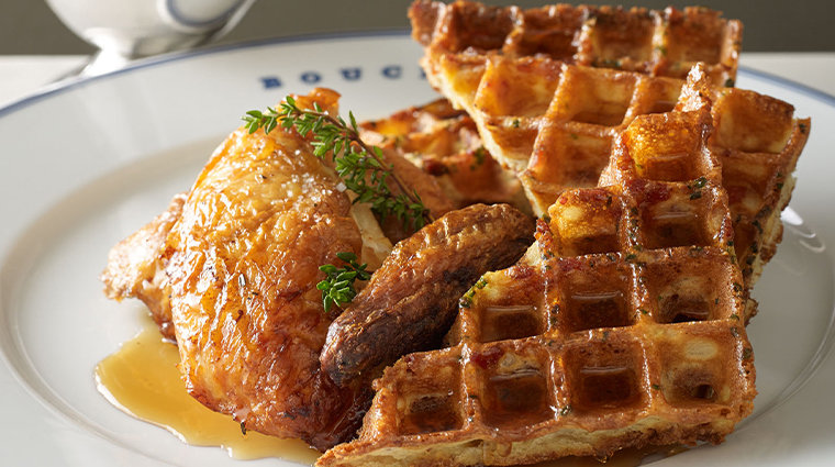 bouchon chicken and waffles