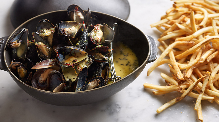 bouchon mussels