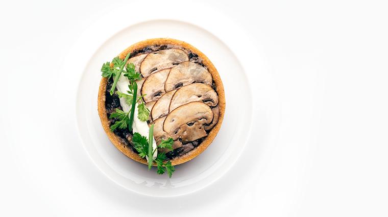 brava by brad kilgore wild mushroom tart