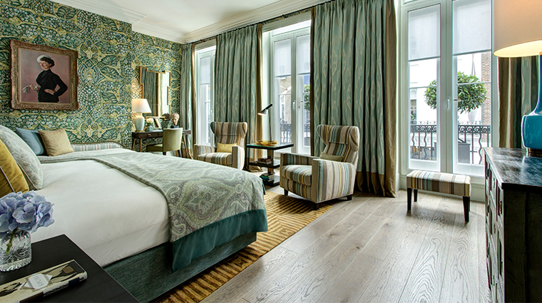 browns hotel a rocco forte hotel kipling suite bedroom