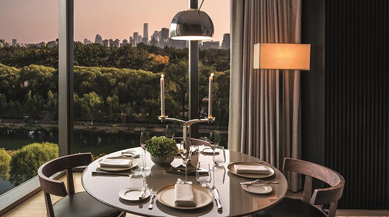 bulgari hotel beijing deluxe suite dining area