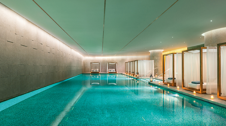 bulgari hotel beijing swimming pool