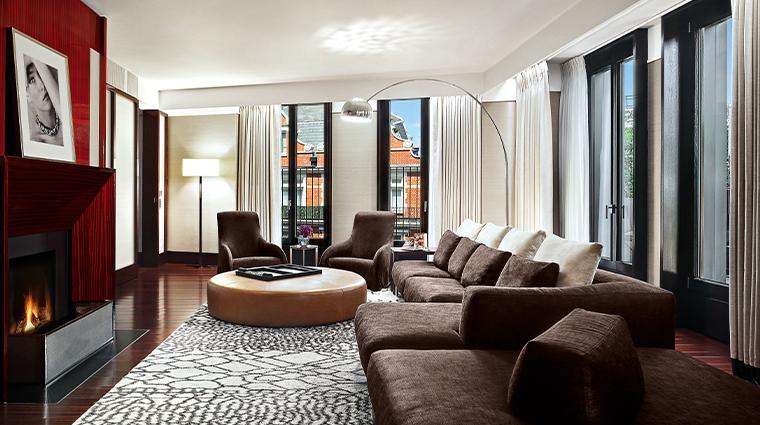 bulgari hotel london bulgari suite VI living room