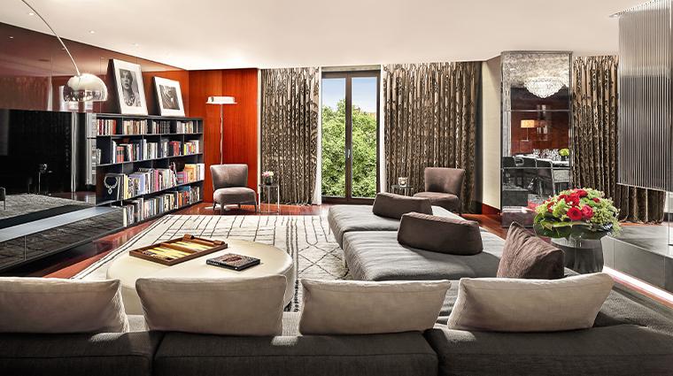bulgari hotel london bulgari suite living room