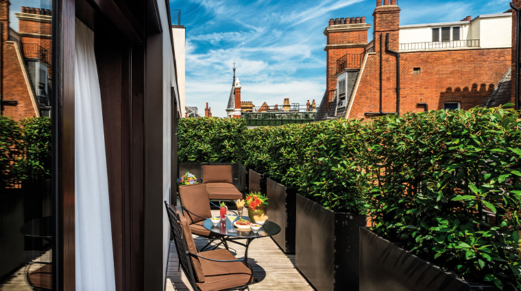 bulgari hotel london bulgari suite terrace