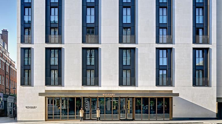 bulgari hotel london facade